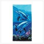 Beach Towel Dolphins -36020