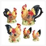 Rooster Tabletop Set -31733