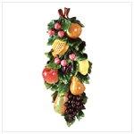 Mixed Fruits Wall Plaque -34111