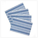 Blue And White Placemats -36496