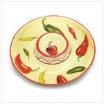 Chili Pepper Chip Dip Platter -36690