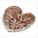 Gorham Crystal Heart Dish -36973