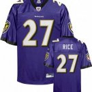 Ray Rice #27 Purple Baltimore Ravens Youth Jersey