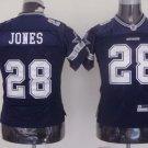 Felix Jones #28 Blue Dallas Cowboys Youth Jersey