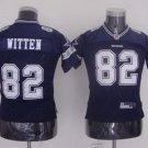 Jason Witten #82 Blue Dallas Cowboys Youth Jersey