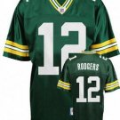 Aaron Rodgers #12 Green Green Bay Packers Youth Jersey