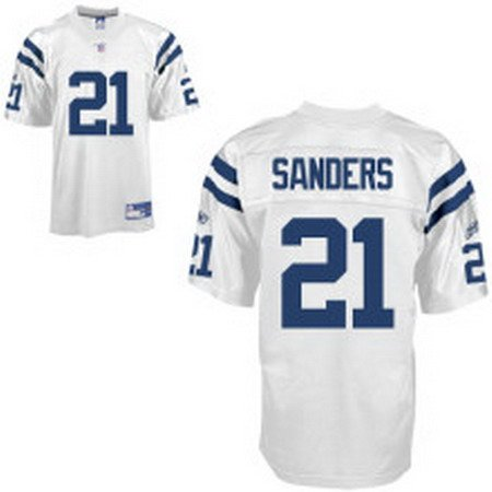 Bob Sanders #21 White Indianapolis Colts Youth Jersey