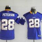 Adrian Peterson #28 Purple Minnesota Vikings Youth Jersey