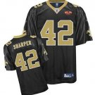 Darren Sharper #42 Black New Orleans Saints Youth Jersey