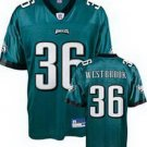 Brian Westbrook #36 Green Philadelphia Eagles Youth Jersey