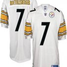 Ben Roethlisberger #7 White Pittsburgh Steelers Youth Jersey