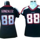 Tony Gonzalez #88 Black Atlanta Falcons Women's Jersey