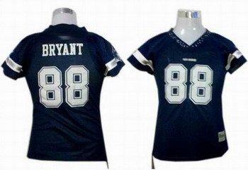 Dez Bryant #88 Navy Dallas Cowboys Women's Jersey