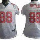 Dez Bryant #88 White Dallas Cowboys Women's Jersey