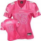 Tim Tebow #15 Pink Denver Broncos Women's Jersey