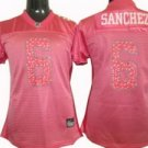 Mark Sanchez #6 Pink New York Jets Women's Jersey