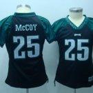 LeSean McCoy #25 Black Philadelphia Eagles Women's Jersey