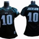 DeSean Jackson #10 Black Philadelphia Eagles Women's Jersey