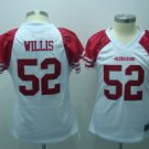 Patrick Willis #52 White San Francisco 49ers Women's Jersey
