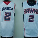 Joe Johnson #2 White Atlanta Hawks Men's Jersey