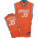 Adam Morrison #35 Orange Charlotte Bobcats Men's Jersey