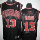 Joakim Noah #13 Black Chicago Bulls Men's Jersey