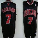Ben Gordon #7 Black Chicago Bulls Men's Jersey