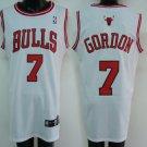 Ben Gordon #7 White Chicago Bulls Men's Jersey