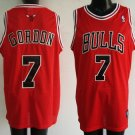 Ben Gordon #7 Red Chicago Bulls Men's Jersey