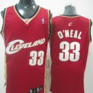 Shaq O'Neal #33 Red Cleveland Cavaliers Men's Jersey