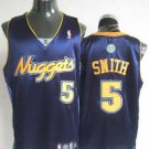 J.R. Smith #5 Navy Denver Nuggets Men's Jersey