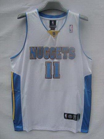 Chris Andersen #11 White Denver Nuggets Men's Jersey