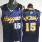 Carmelo Anthony #15 Navy Denver Nuggets Men's Jersey