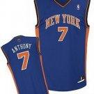 Carmelo Anthony #7 Blue New York Knicks Men's Jersey