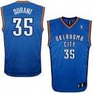 Kevin Durant #35 Blue Oklahoma City Thunder Men's Jersey