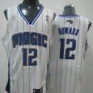 Dwight Howard #12 White Orlando Magic Men's Jersey
