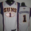 Amare Stoudemire #1 White Phoenix Suns Men's Jersey