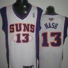 Steve Nash #13 White Phoenix Suns Men's Jersey