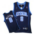 Deron Williams #8 Blue Utah Jazz Men's Jersey