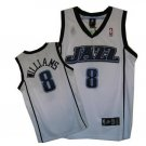 Deron Williams #8 White Utah Jazz Men's Jersey