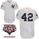 Marino Rivera #42 White New York Yankees Kid's Jersey
