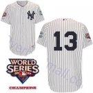 Alex Rodriguez #13 White New York Yankees Kid's Jersey
