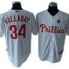 Roy Halladay #34 White Philadelphia Phillies Kid's Jersey