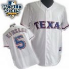 Ian Kinsler #5 White Texas Rangers Kid's Jersey
