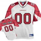 Custom Arizona Cardinals White Jersey
