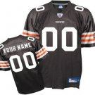 Custom Cleveland Browns Brown Jersey