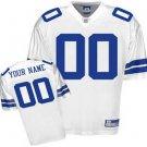 Custom Dallas Cowboys White Jersey