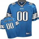 Custom Detroit Lions Blue Jersey