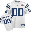 Custom Indianapolis Colts White Jersey