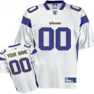 Custom Minnesota Vikings White Jersey